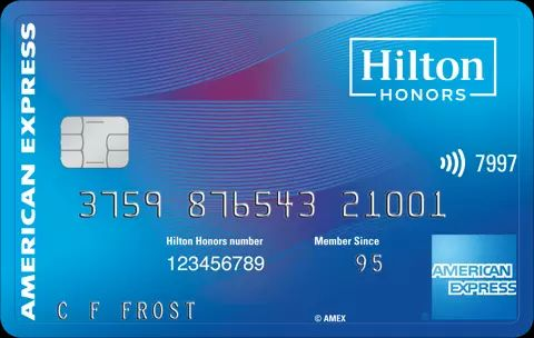 Hilton Amex credit card with big bonus