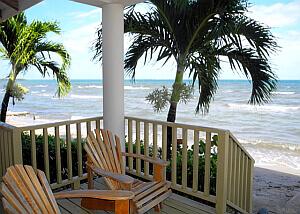 Hopkins Bay bungalow balcony