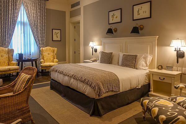 luxury room at Hotel del Parque in Guayaquil, Ecuador