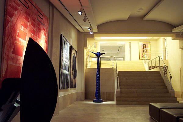Park Hyatt Buenos Aires art museum underground