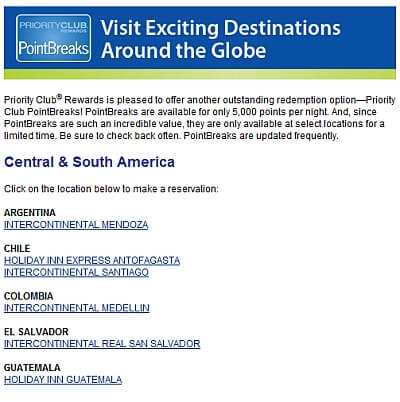 Intercontinental South America
