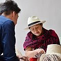 hat making at Illa Experience Hotel in Quito