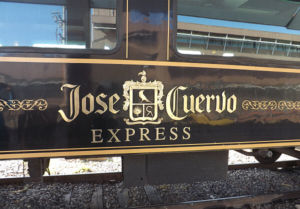 To Tequila In Style On The Jose Cuervo Express
