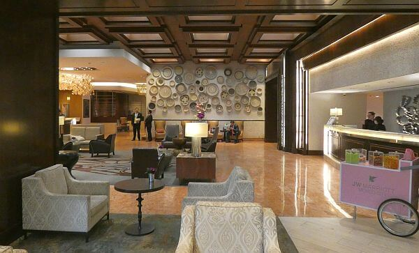 best Polanco hotels - JW Marriott Mexico City