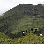 Lares adventure trekking in Peru