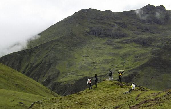 Lares adventure trekking in Peru