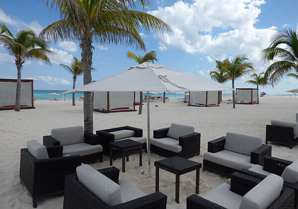 Cancun beach tourism