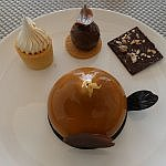 dessert at Le Blanc Spa Resort Cancun