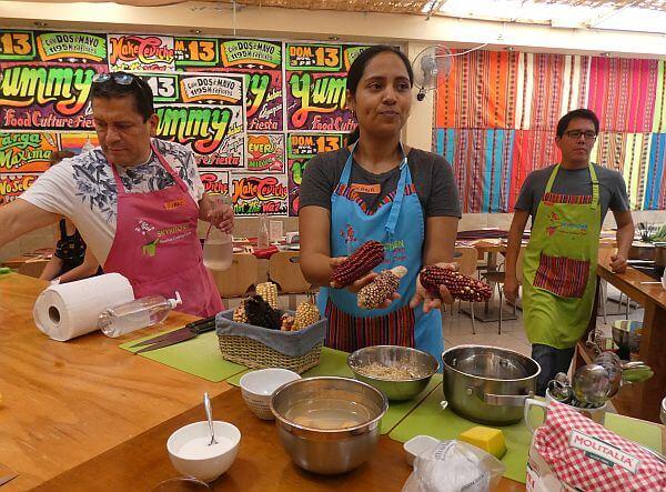 sky kitchen Lima Peruvian cooking class