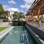 Live Aqua San Miguel pool and hammocks