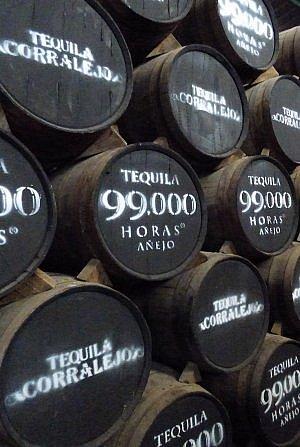 99,0000 Horas by Corralejo tequila barrels