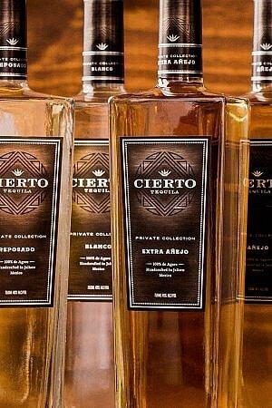 cierto award winning tequila