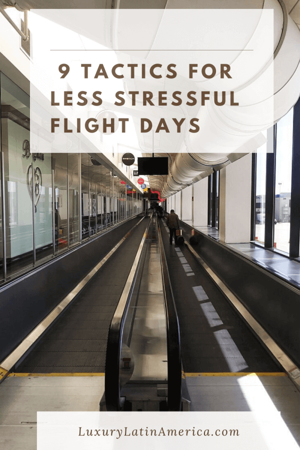 9 ways to dial back your stress on flight days