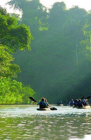 kayaking the Amazon jungle tour