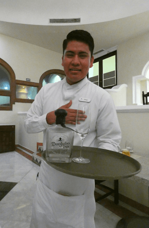 Trying the strange Don Julio 70 Claro tequila that took brown liquor and turned it white