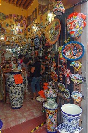talavera shop Guanajuato capital