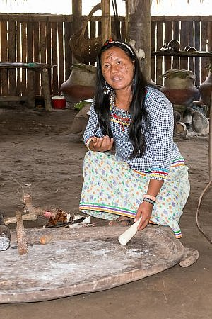 The Kichwa Anangu Community runs Napo Wildlife Center lodge within the Yasuní National Park