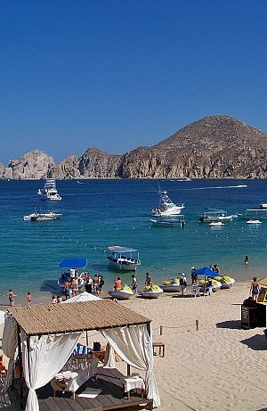 Cabo San Lucas Medano swimming beach
