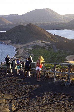 family vacation in the Galapagos Islands