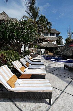 Casa de Mita luxury all-inclusive boutique resort near Punta de Mita in the Riveria Nayarit of Mexico