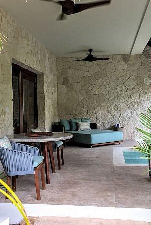 Chable Maroma villa terrace