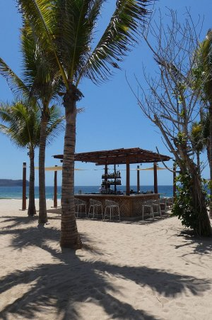 Conrad Punta de Mita beach bar, Riviera Nayarit