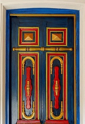 Illa Boutique Hotel restaurant door
