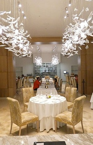 Bella Restaurant at Le Blanc Cancun all-inclusive resort and spa in Mexico.