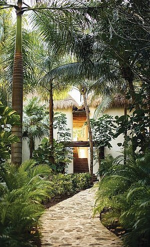 From the jungle to the beach, with your suite in between, at Belmond Maroma Resort and Spa