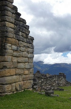 Impressive Kuelap Fortress in the Amazonas region of north Peru, a Chachapoyas citadel that defended the tribe for nearly 1,000 years. Froma Luxury Latin America tour feature.