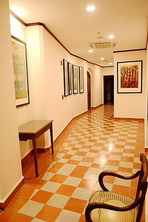 Hallway of La Recoleccion Hotel in the city of Leon, Nicaragua, from Luxury Latin America