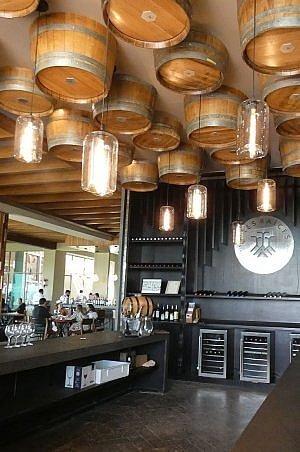 Tres Raices winery tasting room between San Miguel de Allende and Dolores Hidalgo in Mexico