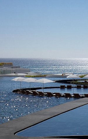 Viceroy Los Cabos modern resort near the city of San Jose del Cabo on the beach