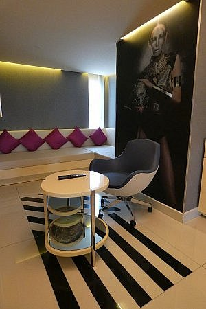 Suite at the W Hotel Mexico City