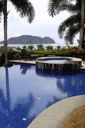 A Los Suenos villa pool in Costa RIca from LuxuryLatinAmerica.com