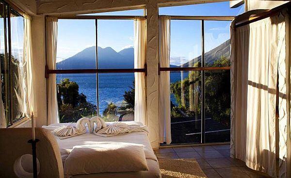 Lush Hotel Atitlan Guatemala view