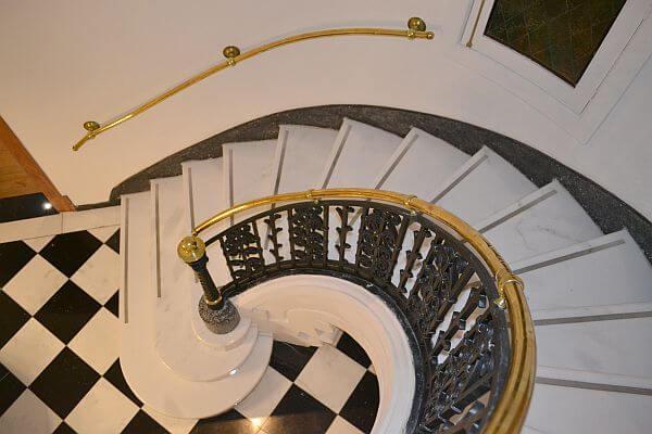 Magnolia Hotel Santiago stairs