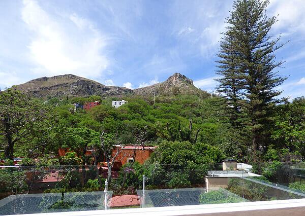 view from Villa Maria Cristina