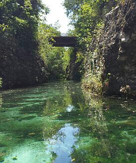 Mayakoba Mexico canal