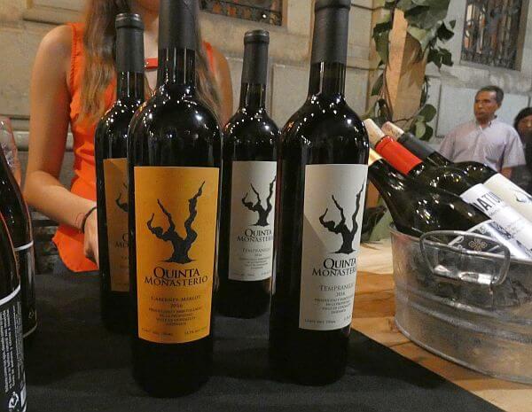 Quinta Monasterio wine from Valle de Guadalupe