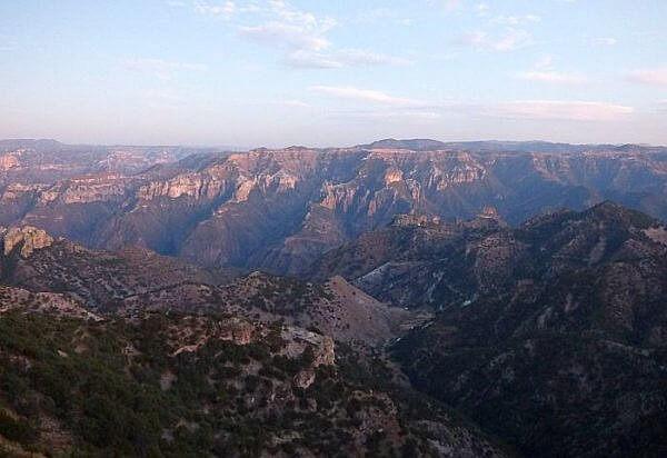 Barrancas del Cobre view from El Mirador