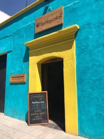 Mis Mezcales shop in Oaxaca