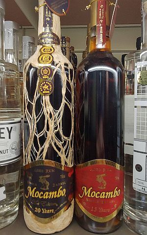 Mocambo 15 and 20 year single barrel aged rum
