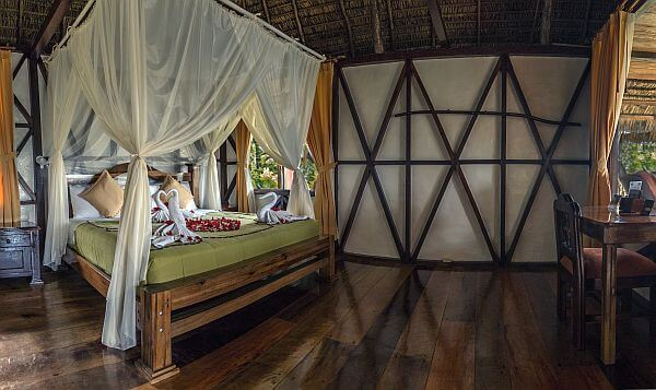 Napo Wildlife Reserve guest room