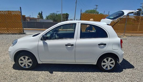 Compact Mexican rental car is really compact