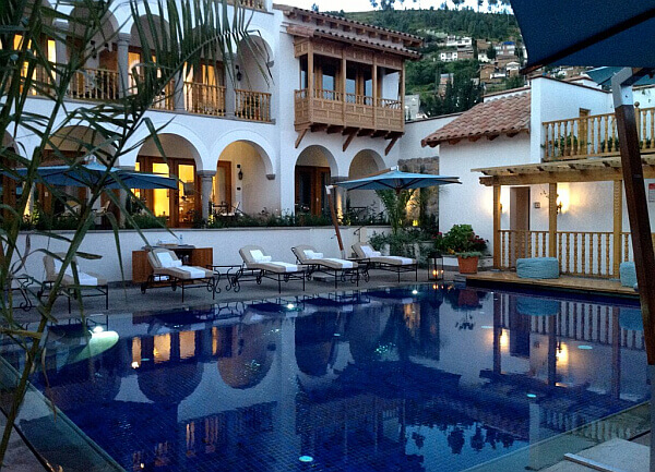 Nazarenas best luxury hotels Cusco