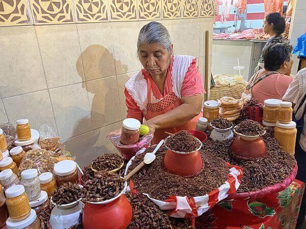 Oaxaca City market