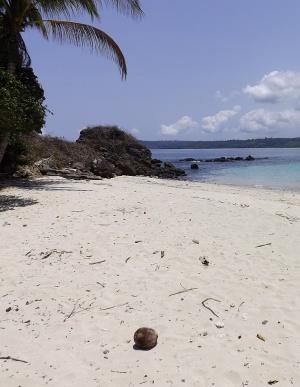 Panama hidden beach