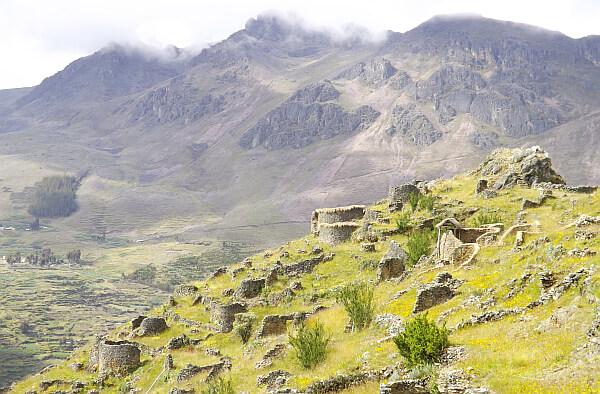 Ankasmarca ruins