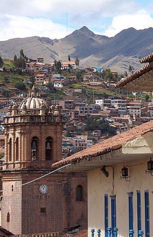 Cusco on tour of Peru